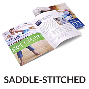 saddle stitched booklets